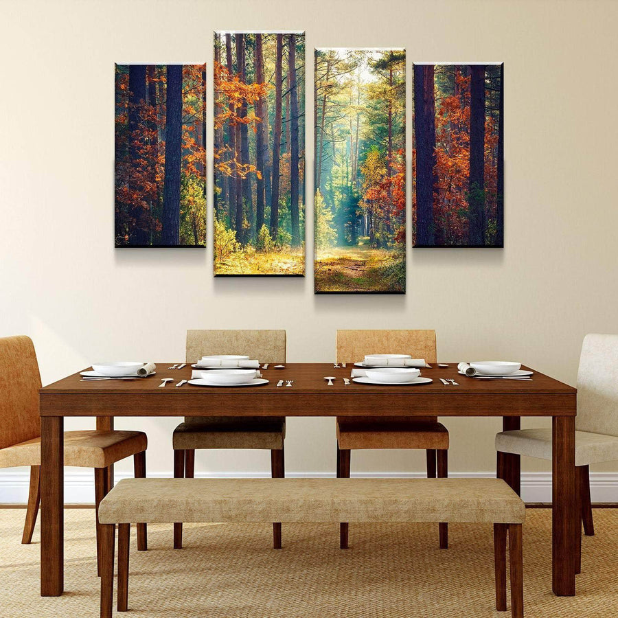 Autumn Forest Canvas Set