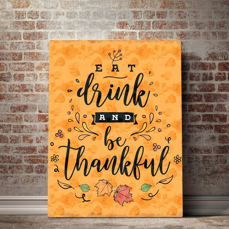 Be Thankful Canvas Set