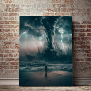 Beautiful Destruction Canvas Set