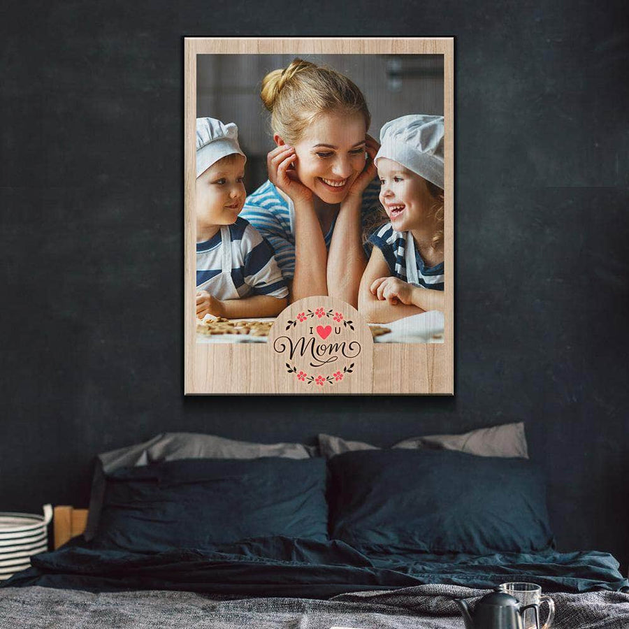 The Best mom in the world Custom Canvas Set