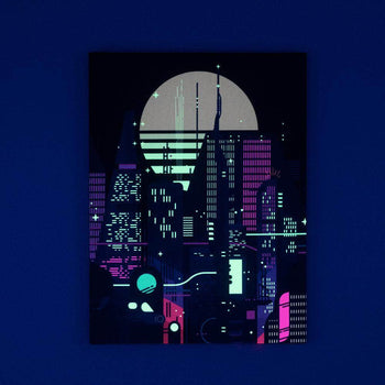 Night Life Lucid Light Wall Art