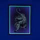 Black Tiger Lucid Light Wall Art