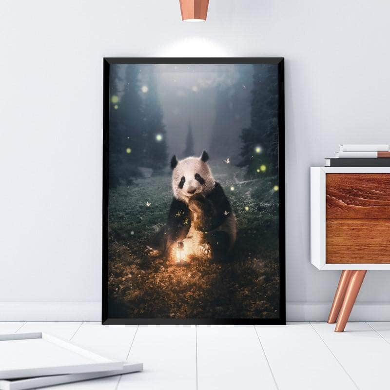 Magical Panda Canvas Set