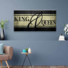 King & Queen Canvas Set