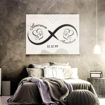 Custom Personalized Boundless Love Canvas Set