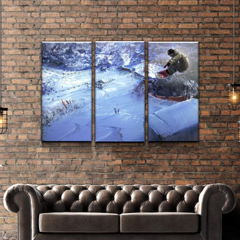 Shaun White Animation Canvas Set