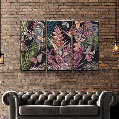 Lush Thicket Canvas Set