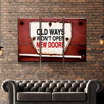 Old Ways Canvas Set