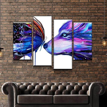 Two Galaxies Canvas Set