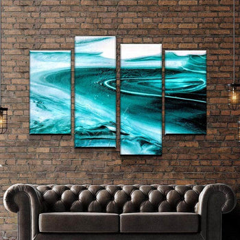 Marble Like Water Canvas Set