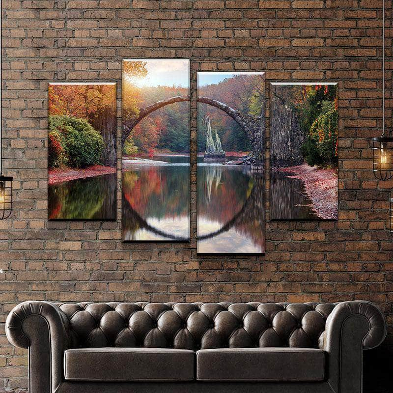 River Arch Canvas Set