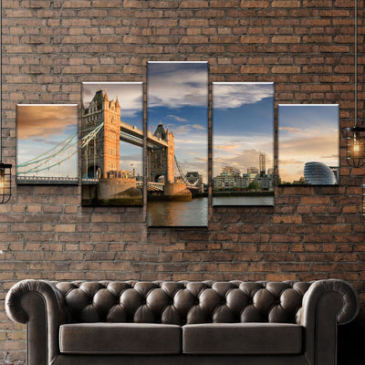 Tower Bridge Canvas Set