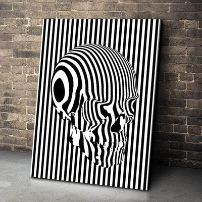 Barcode Brains Canvas Set