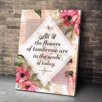 Flowers of Tomorrow Canvas Set