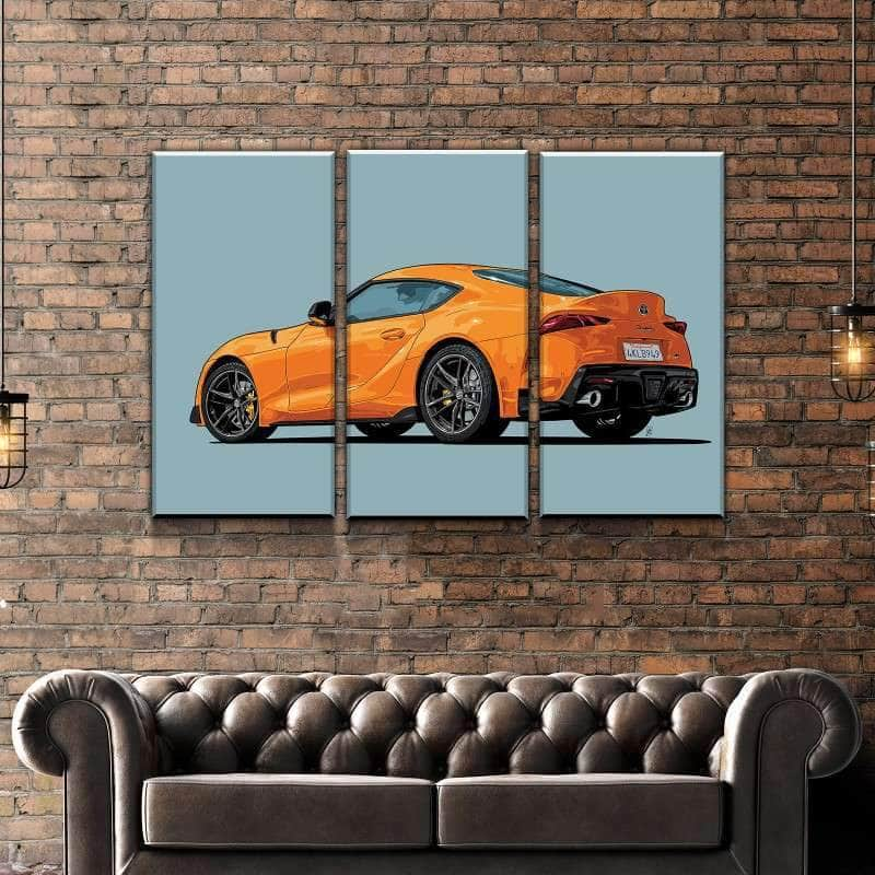 2019 Toyota Supra Canvas Set