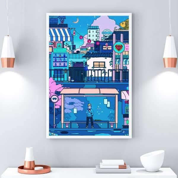 Chill City Canvas Set