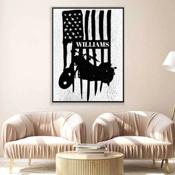 American Chopper Custom Canvas Set