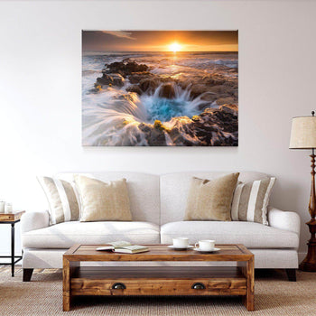 Blue Hawaiian Pools Canvas Set