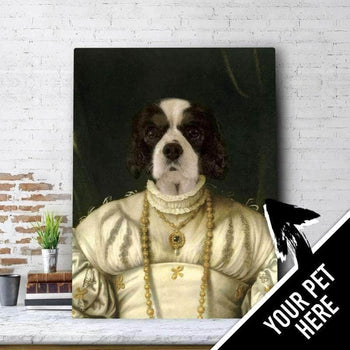The Just Lady Custom Pet Canvas Set