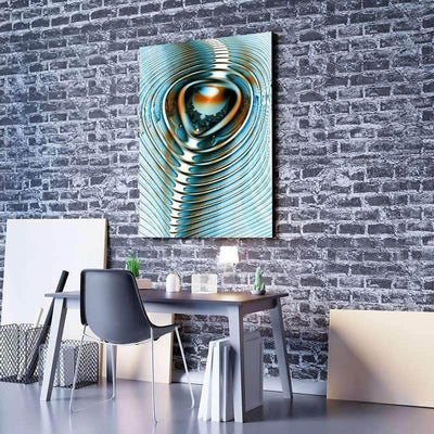 Digital Ripple Canvas Set