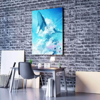 Sky Whale Canvas Set