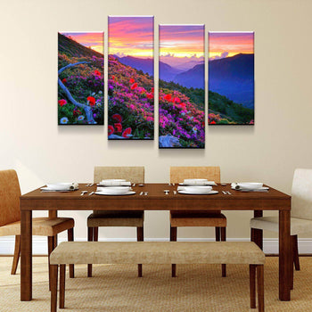 Azalea Blossom Canvas Set