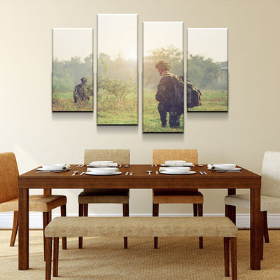 Two Soldiers Canvas Set