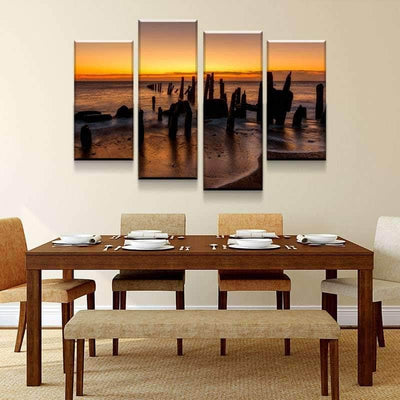 Spurn Point Canvas Set