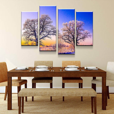 Cold Trees Canvas Set