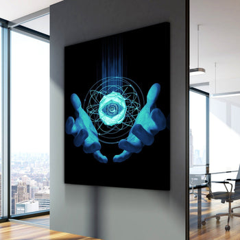 Eye of the Grid Canvas Set