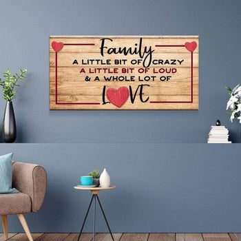 Family Love Canvas Set
