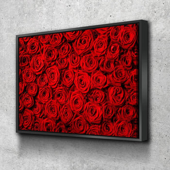 Rose Fields Canvas Set