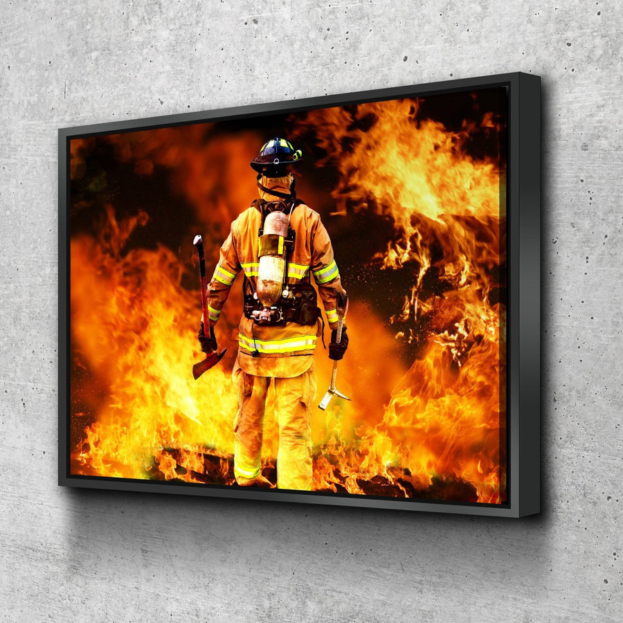 Firefighter Hero Canvas Set
