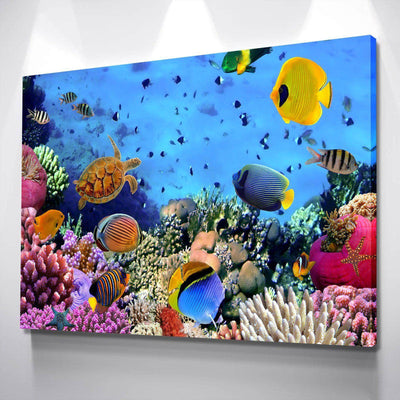 Fishes Canvas Set