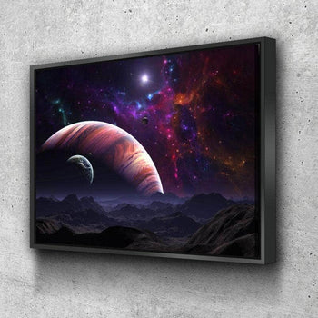 Out in Space Canvas Set