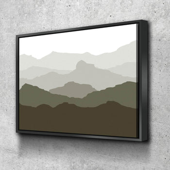 Mountains Canvas Set