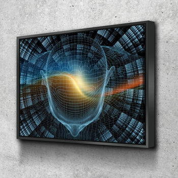 Brain Waves Canvas Set