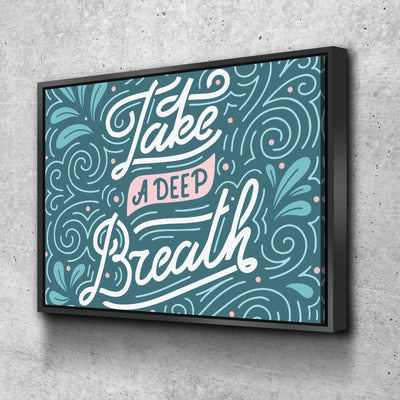 Take A Deep Breath 11 x 14 Canvas Set (Free Shipping)