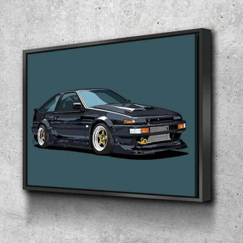 Toyota AE86 Canvas Set