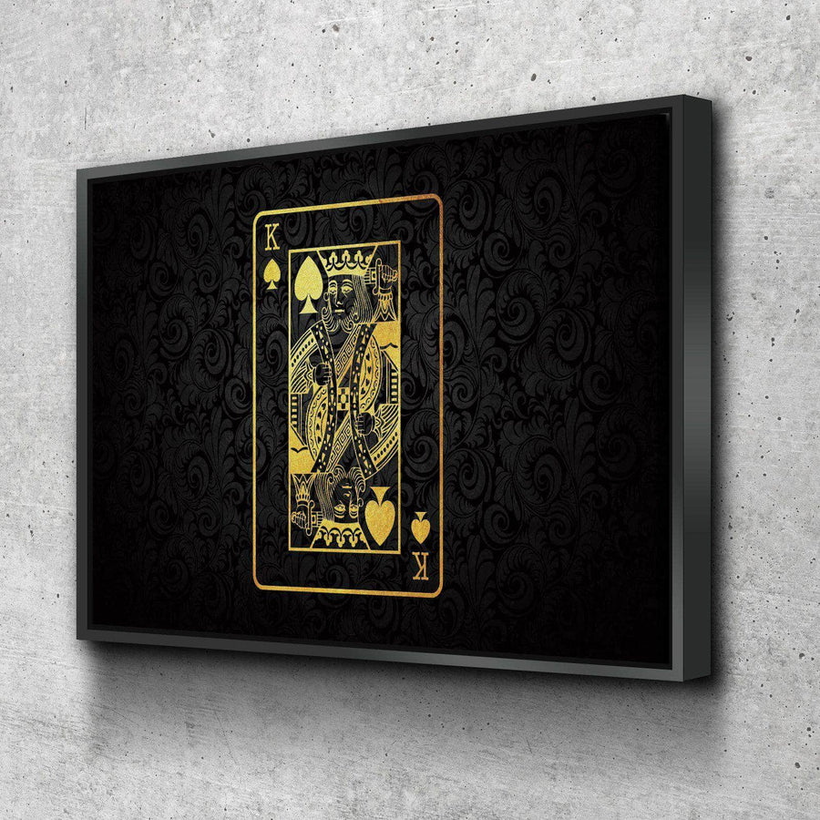 King of Spades Canvas Set
