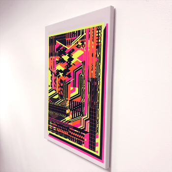 Glitch Switch Lucid Light Wall Art
