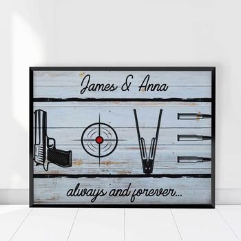 Gun Love Custom Canvas Set