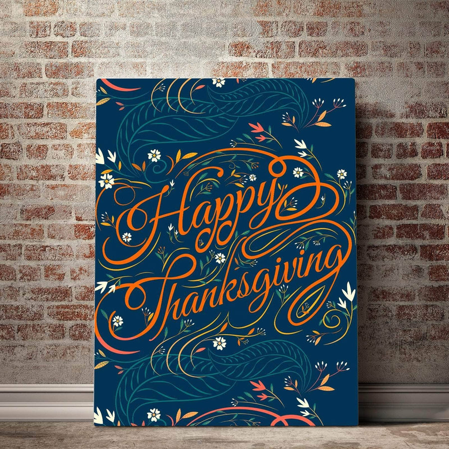 Happy Thanksgiving Canvas Set
