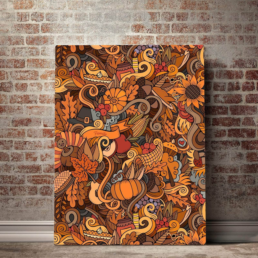 Holiday Harvest Canvas Set