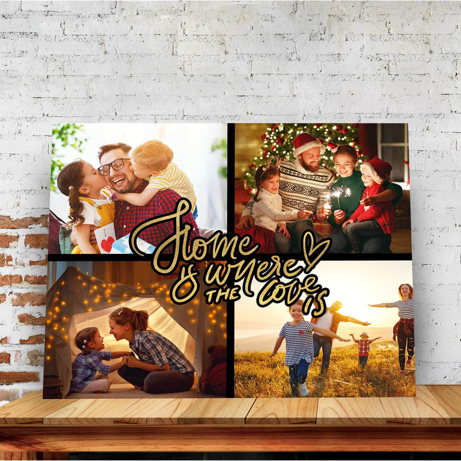 Home is Where the Love is Custom Canvas Set