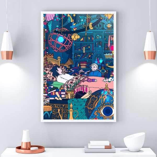 Howl's Room Canvas Set