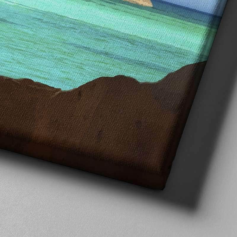 Island Cave Canvas Set