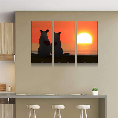 Jack Russell Canvas Set