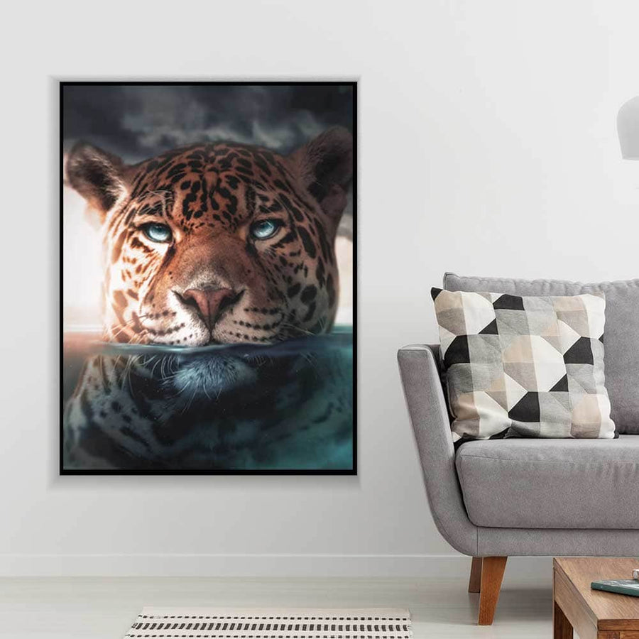 Underwater Jaguar Canvas Set