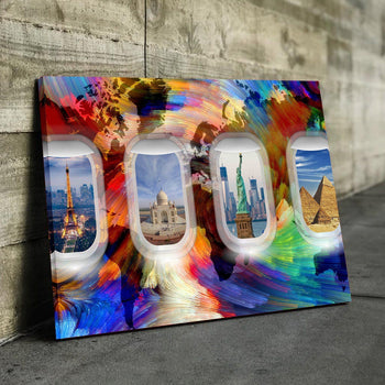 Jet Set Canvas Set